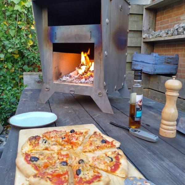 Cortenstaal pizzaoven